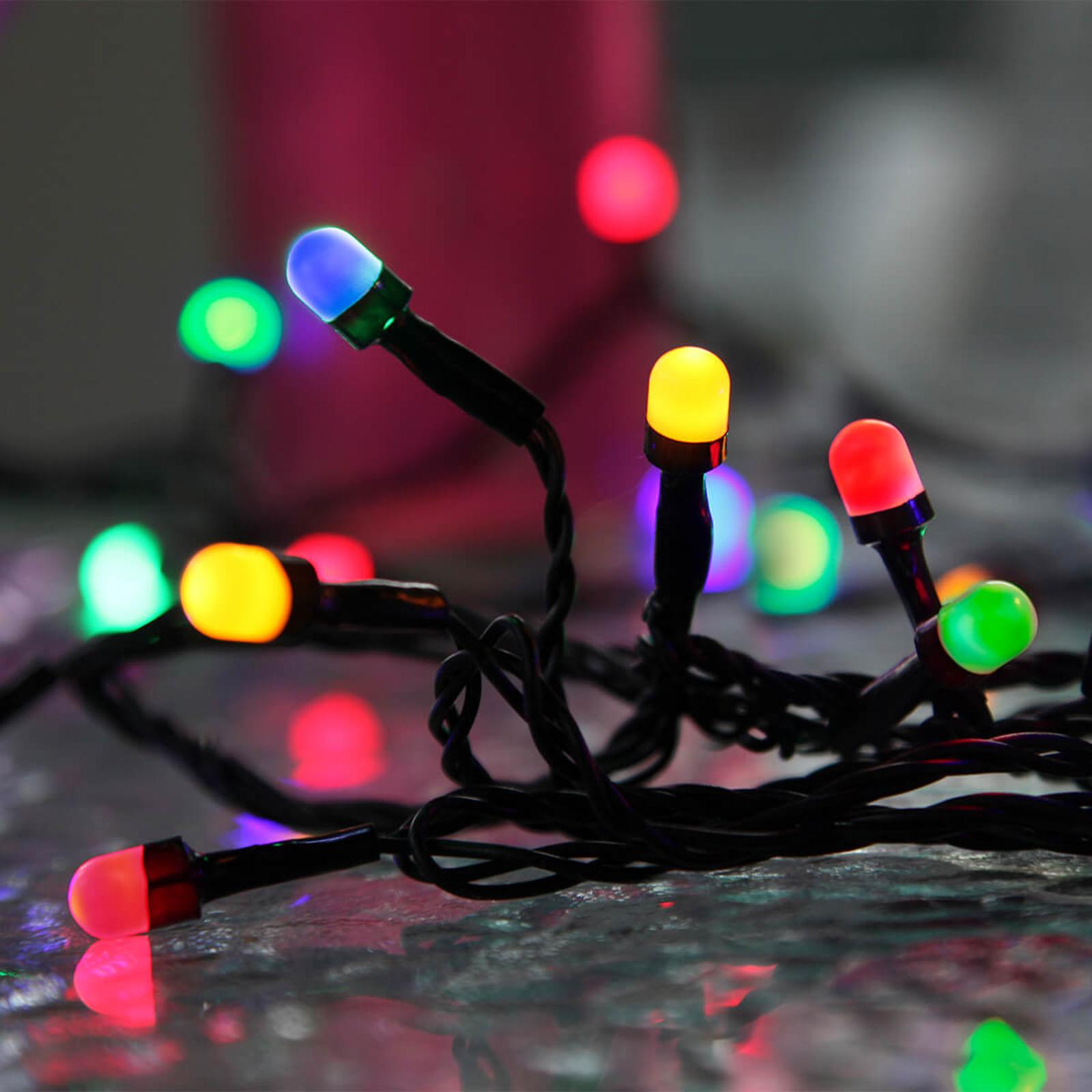 Guirlande LED Party quadricolore pour extérieur