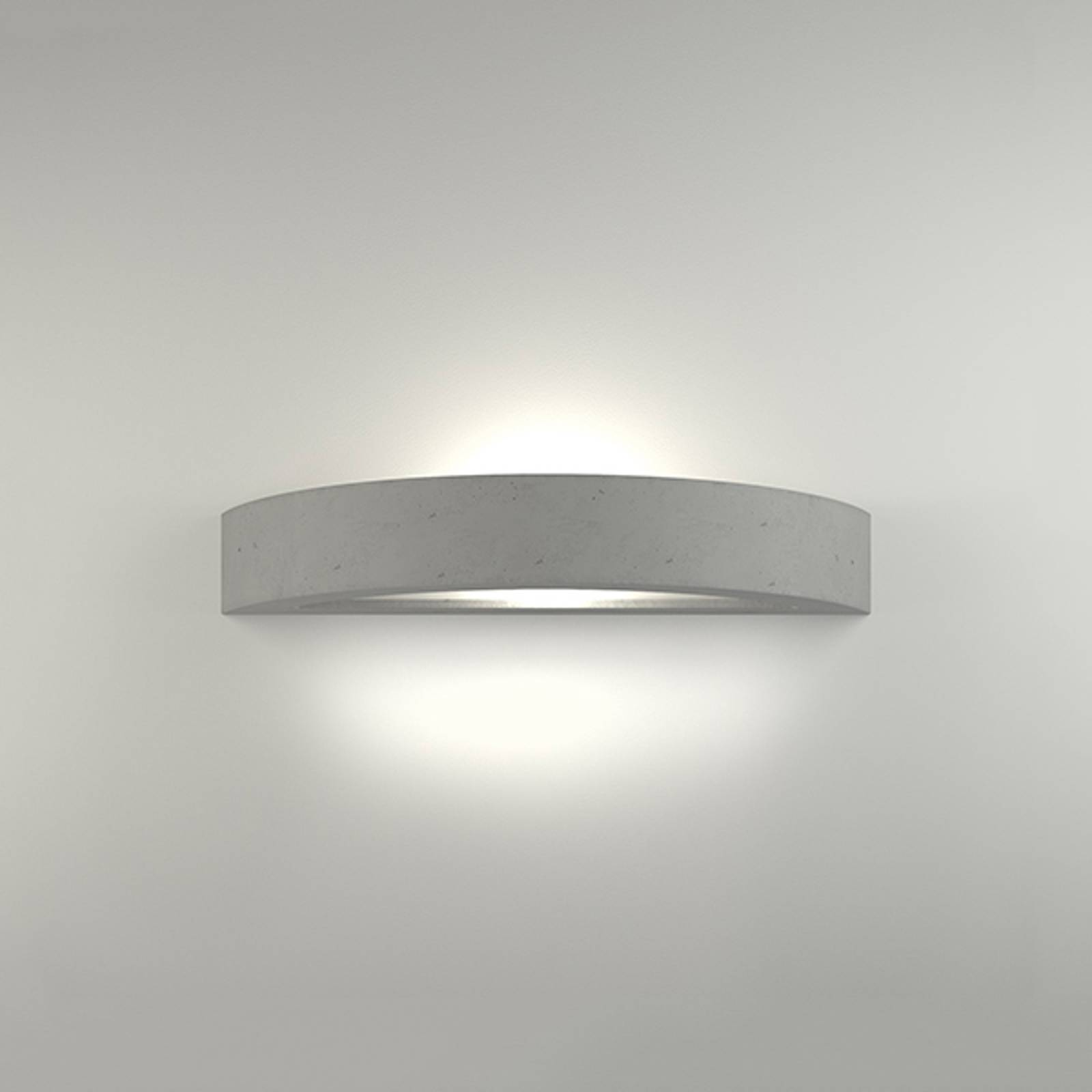 LED wandlamp 2455 beton 3.000 K niet dimbaar