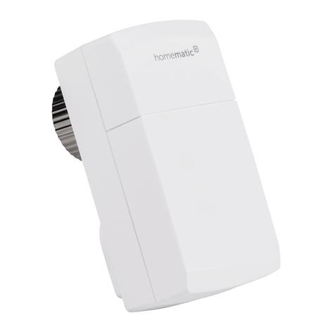 Homematic IP termostato per radiatore, compatto