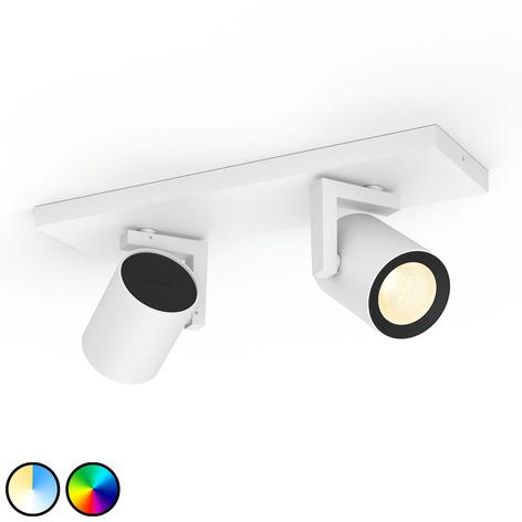 Philips Hue Argenta -LED-spotti, 2-lamppuinen