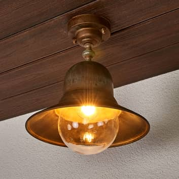 lámpara latón techos Marquesa para ext.