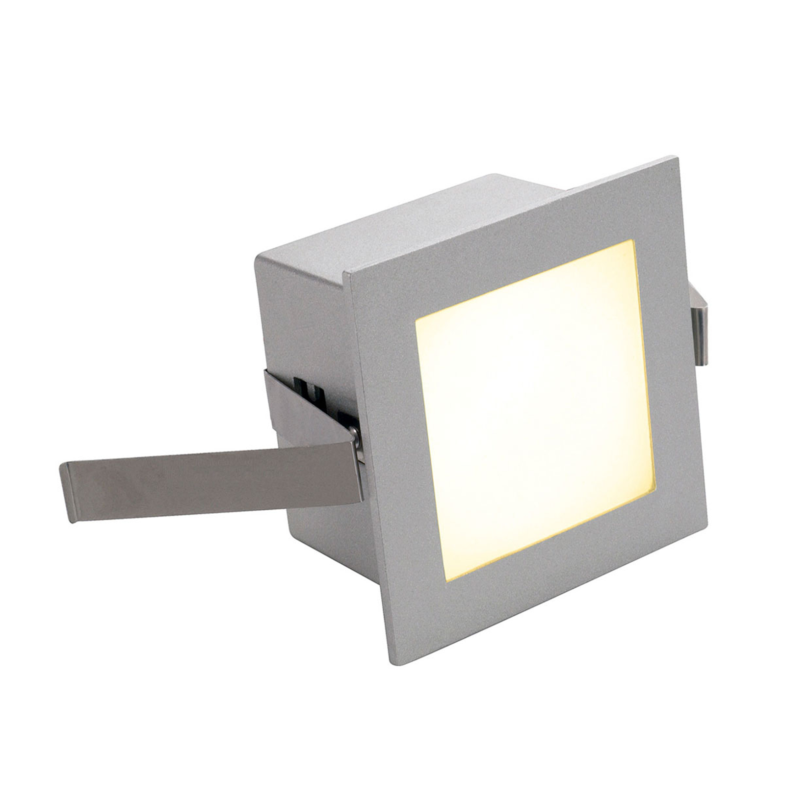 SLV LED-Einbaulampe Frame Basic 3.000K silber