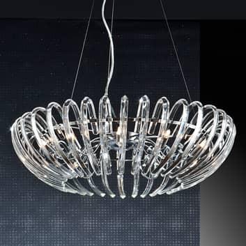 Ariadna klar krystall-pendellampe - 66 cm