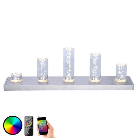 Med färgväxling - LED-bordslampan Skyline