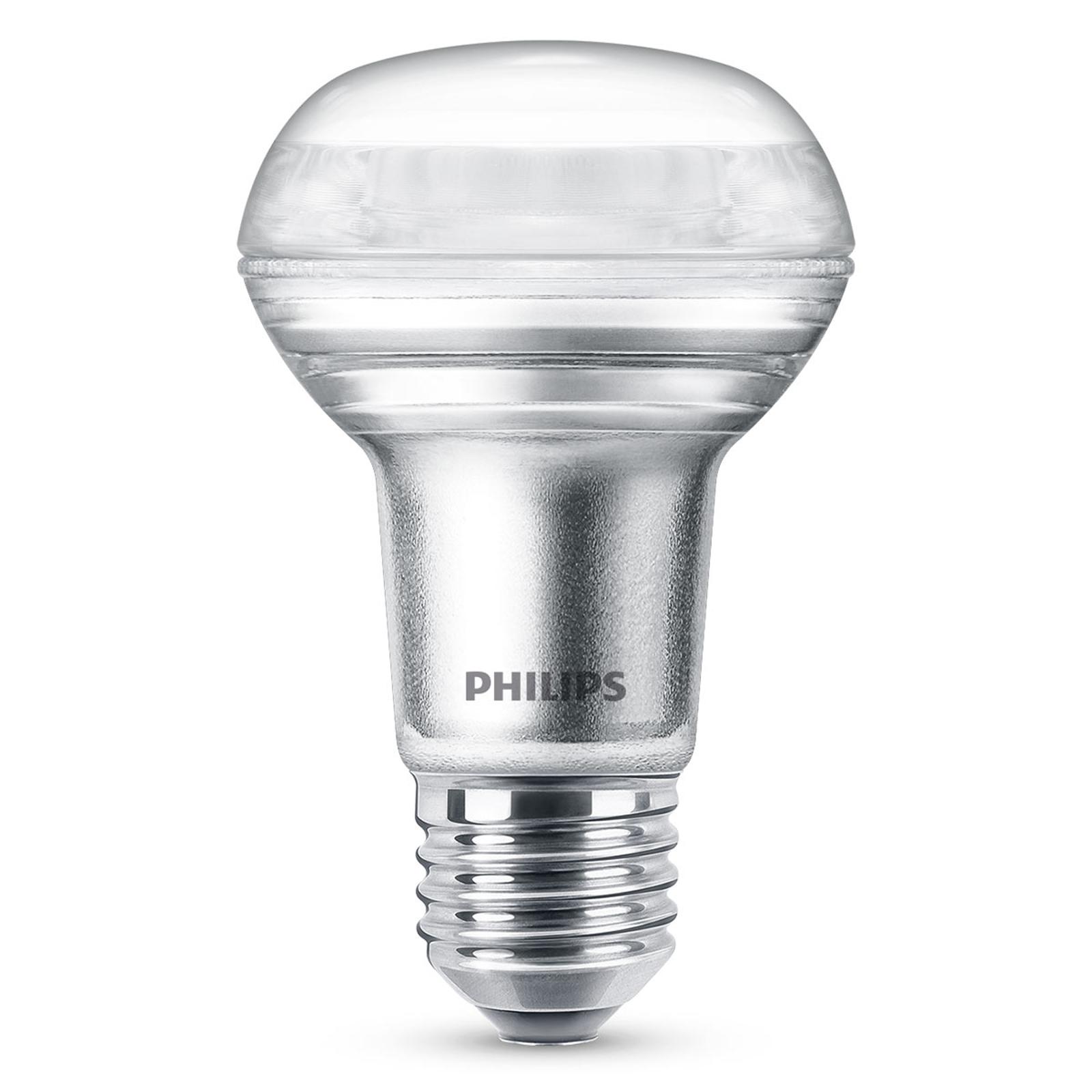 Philips E27 R63 LED reflek. 3W