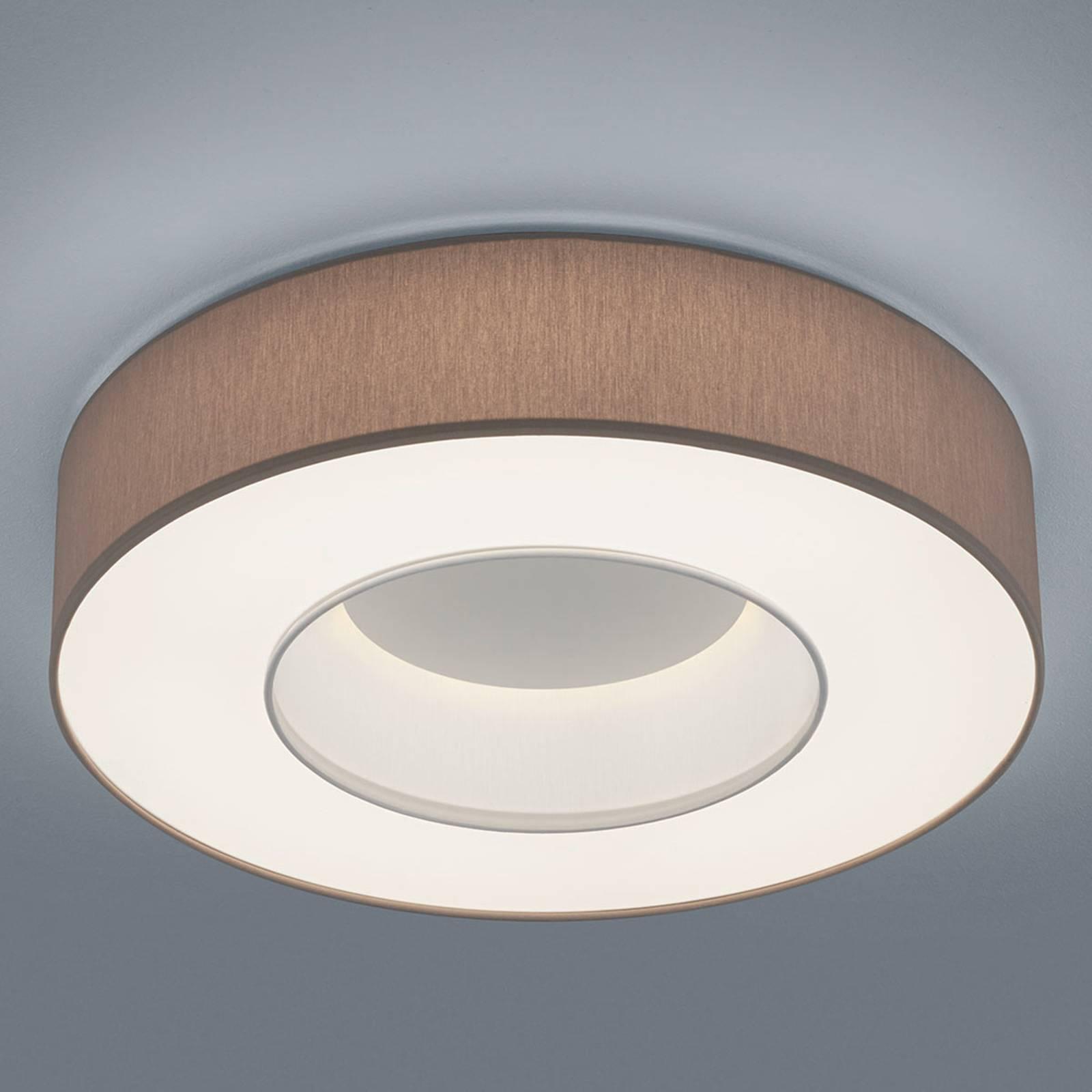 Helestra Lomo - lampa sufitowa LED, chintz mocca