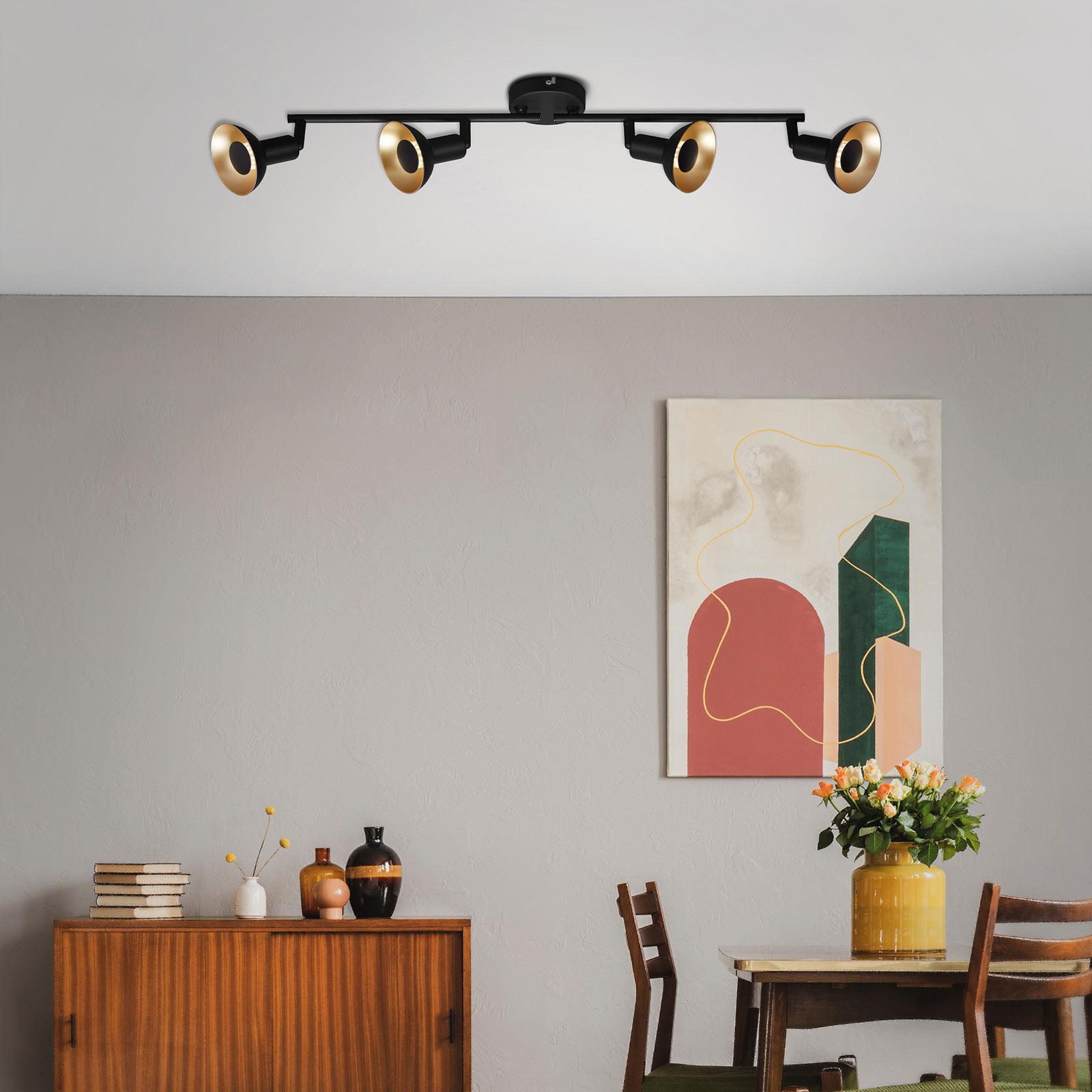 Lampa sufitowa LED Kukui, 4-punktowa