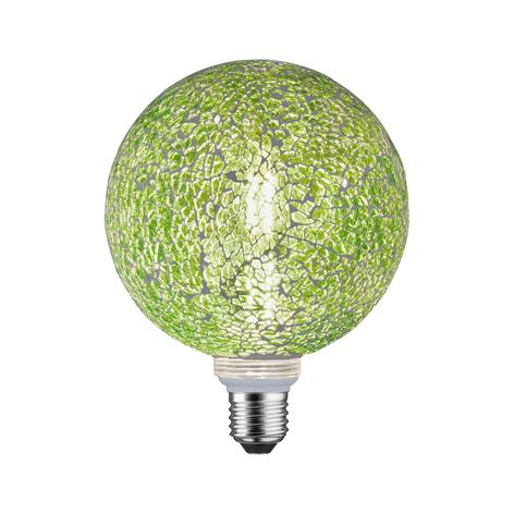 Paulmann E27 LED-Globe 5W Miracle Mosaic grün