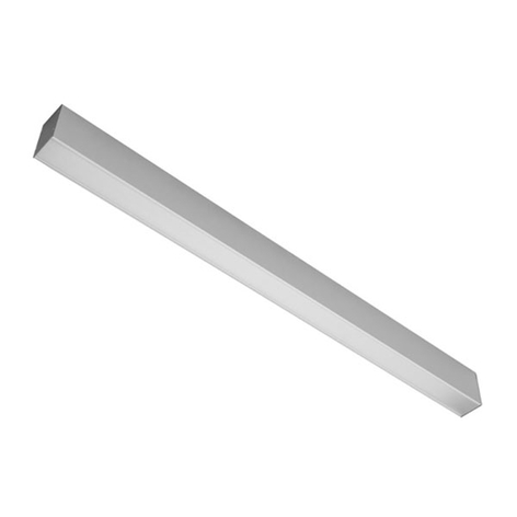 Aluminium LED aanbouw lamp 4.000 K
