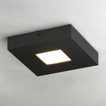 LED-loftslampen Cubus i sort