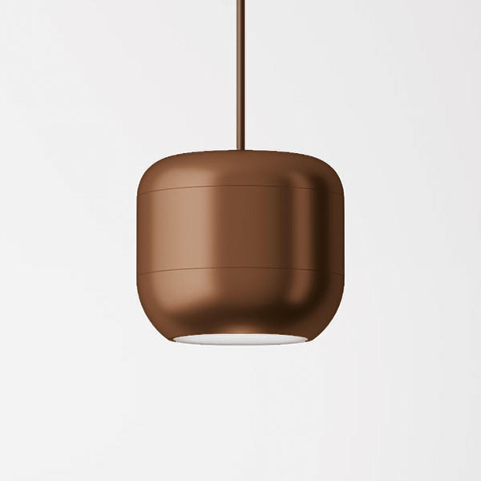 Axolight Urban suspension LED 16cm bronze mat