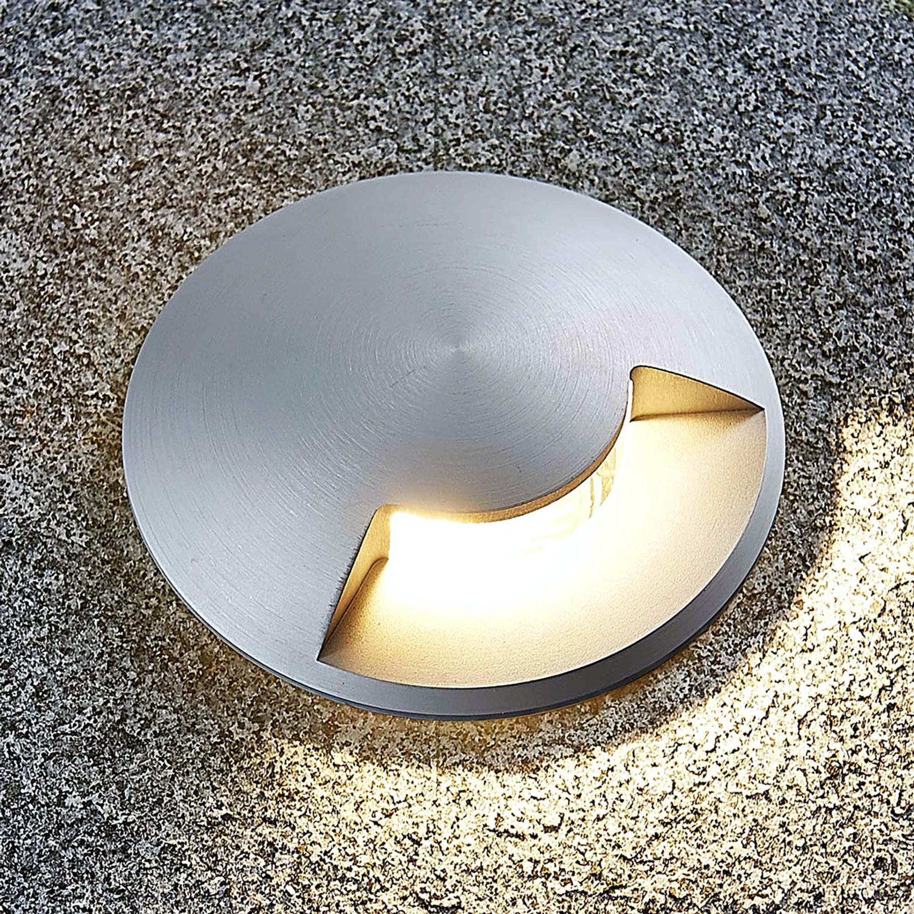 Grondspot inbouwlamp Milara uit aluminium