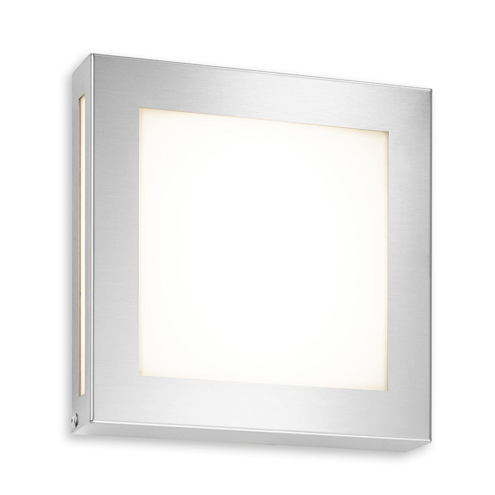 Udendørs væglampe Legendo Mini, rustfrit stål, LED