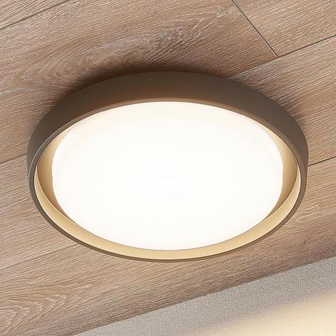 LED-Außendeckenleuchte Birta, rund, 34 cm