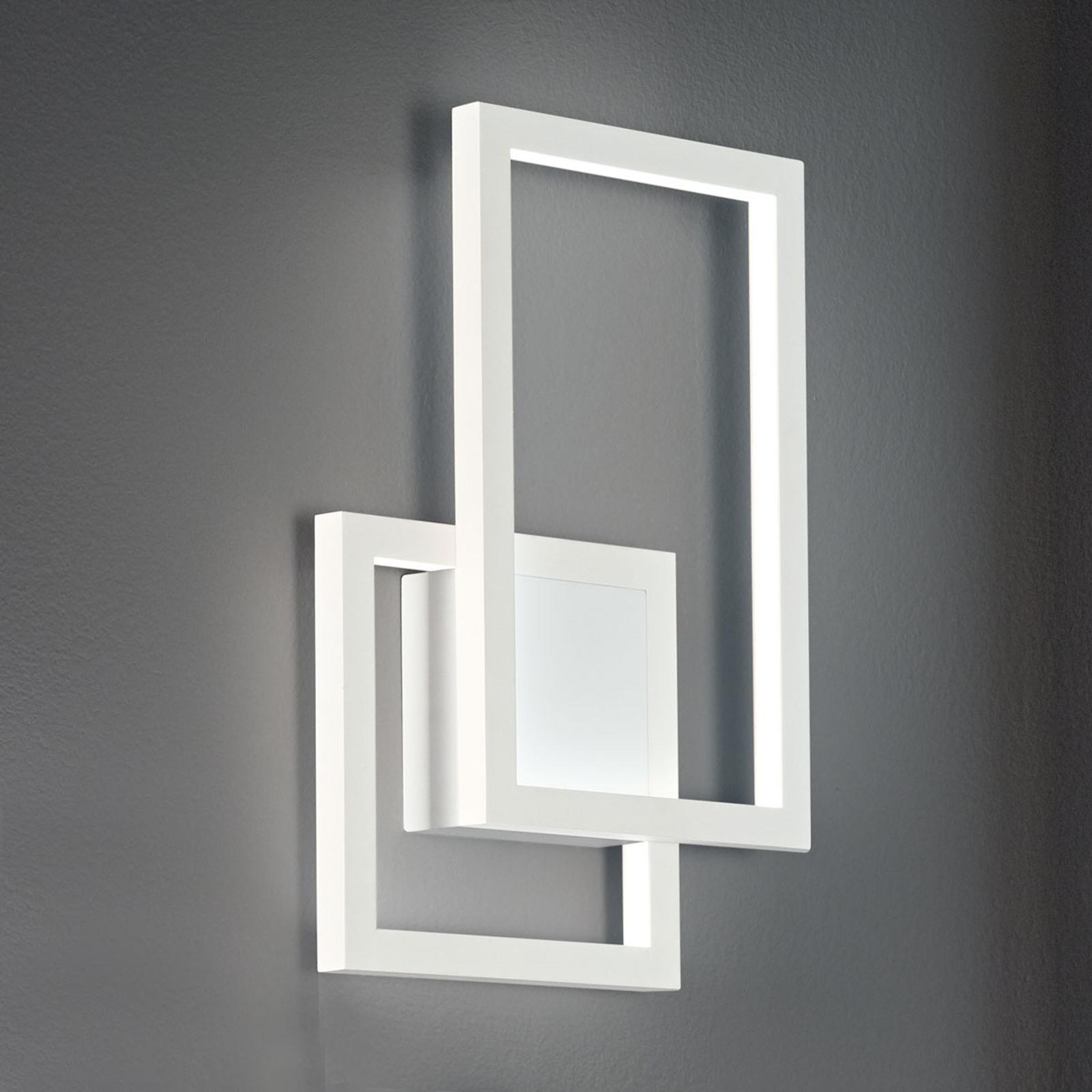 LED-Wandleuchte Cross aus Aluminium