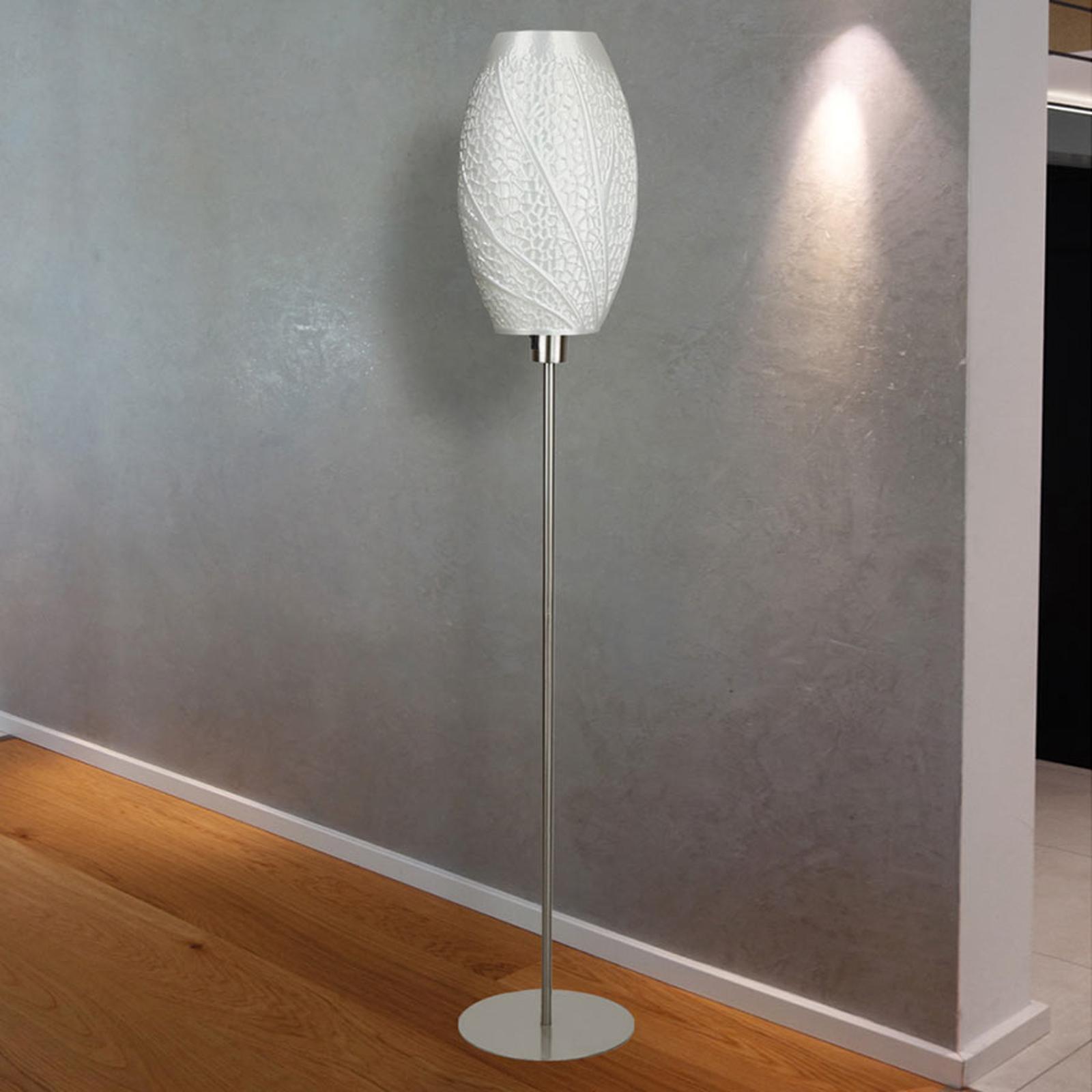 Designergolvlampa Flora, 3D-tryck