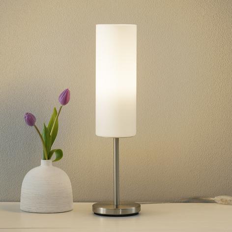 Sjarmerende TROY bordlampe i hvitt