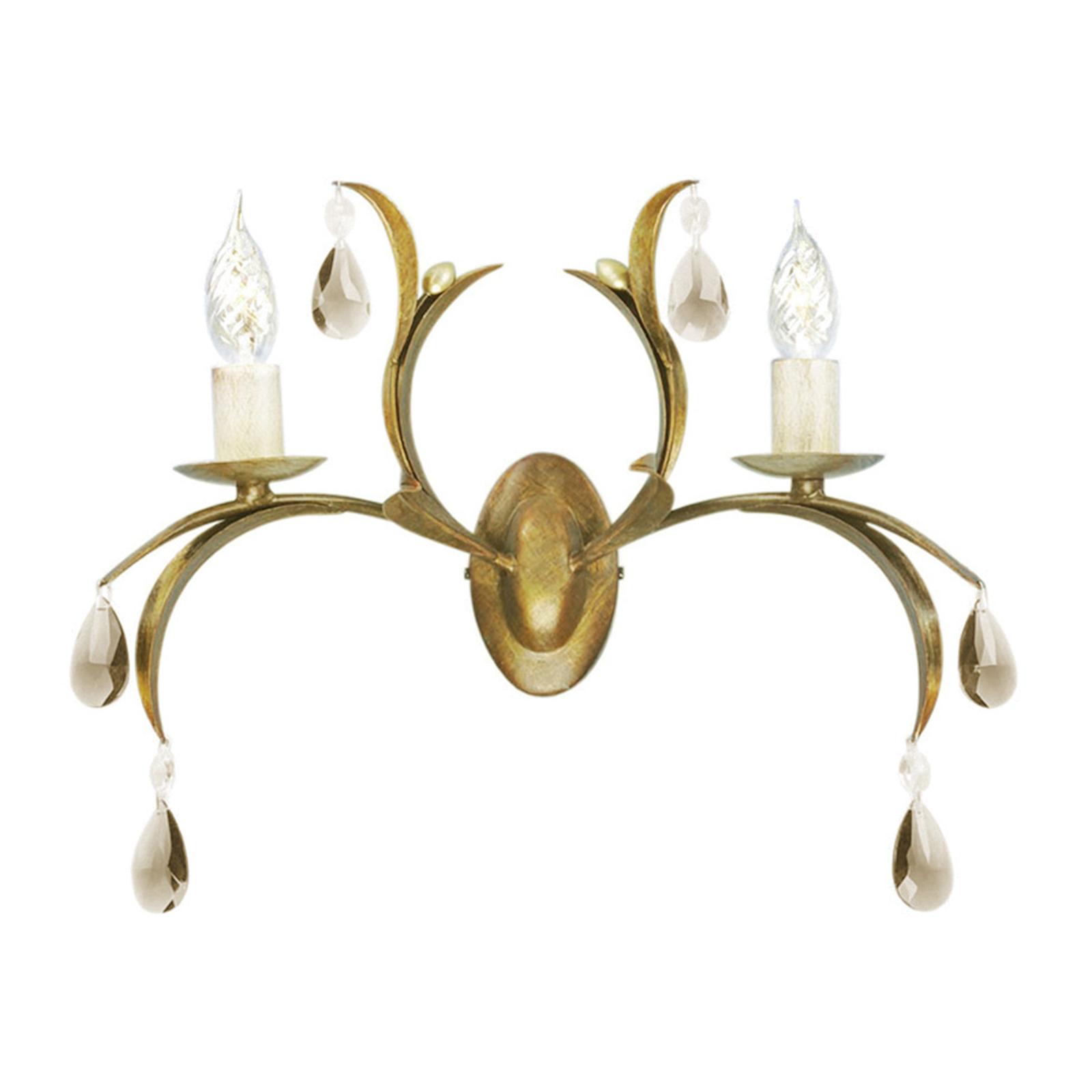 Applique fantaisie LILY bronze métallisé