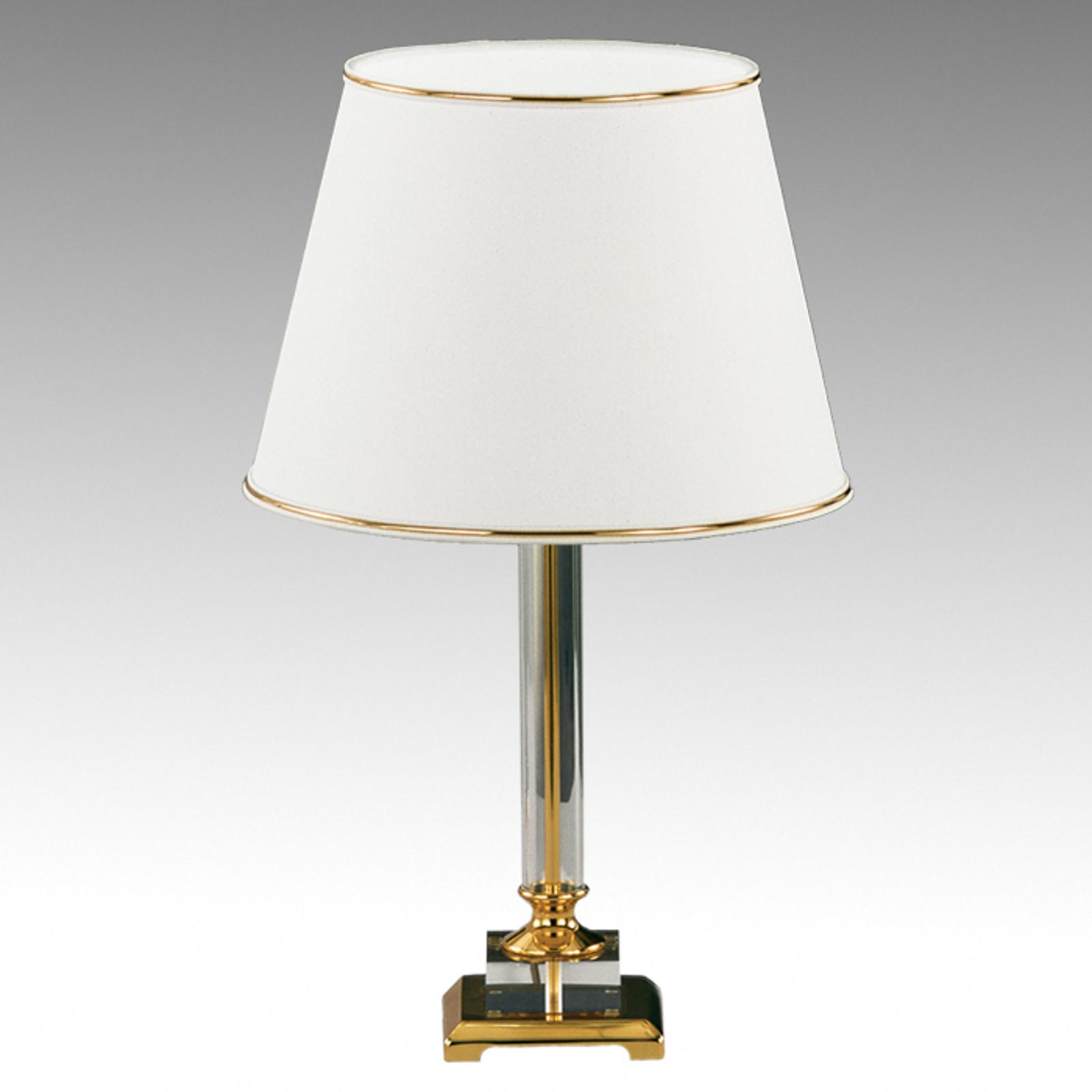 Vznešená stolná lampa Queen von Knapstein