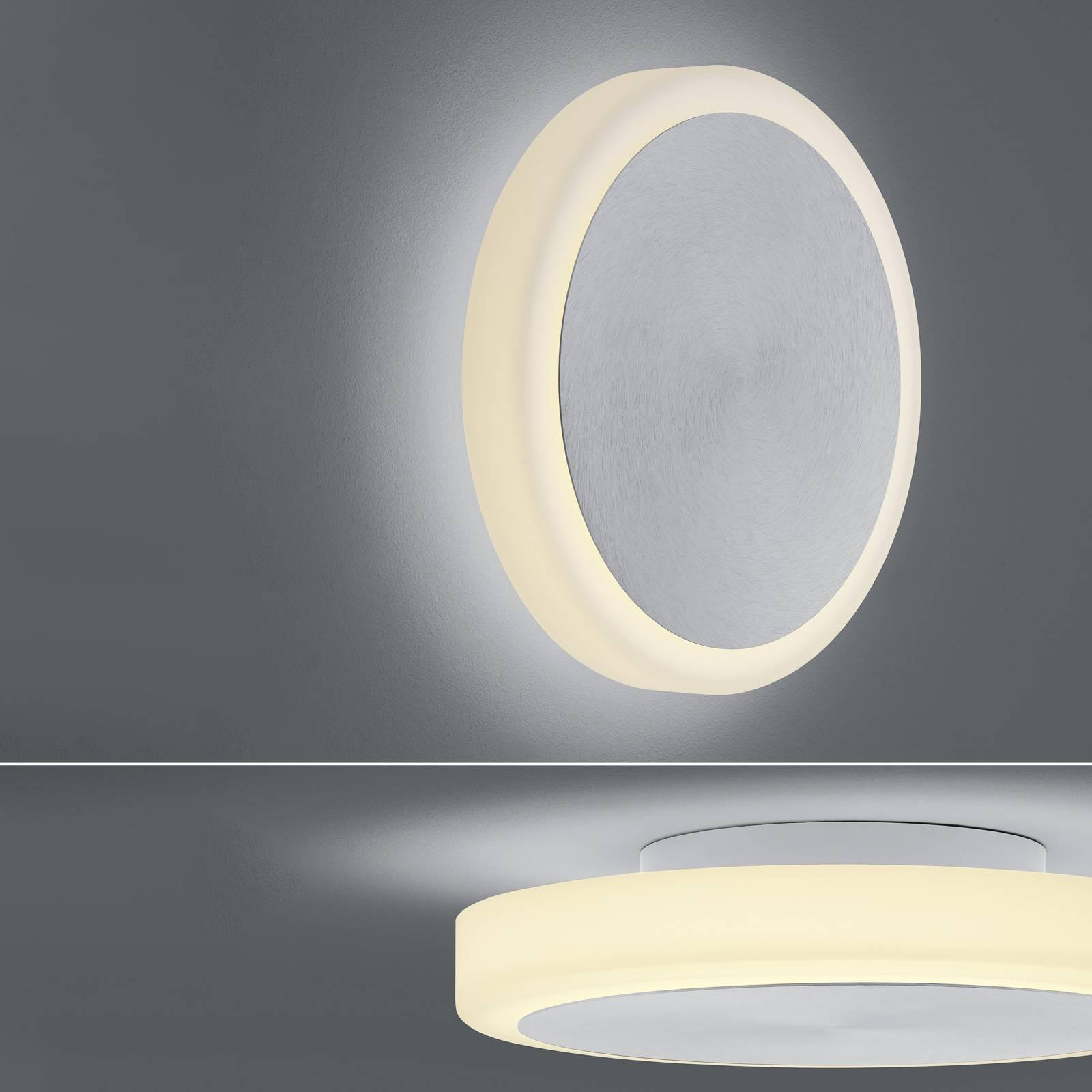 BANKAMP Button applique LED 33cm alluminio