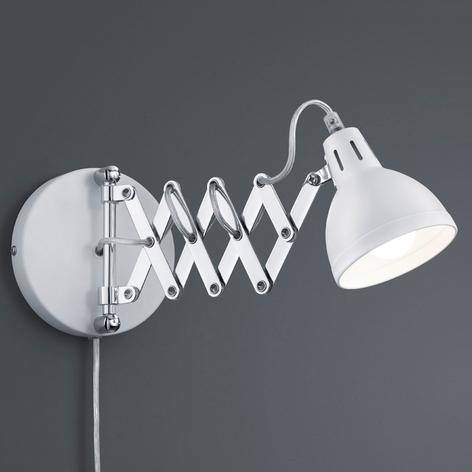 S matně bílým stínidlem - nástěnné světlo Scissor