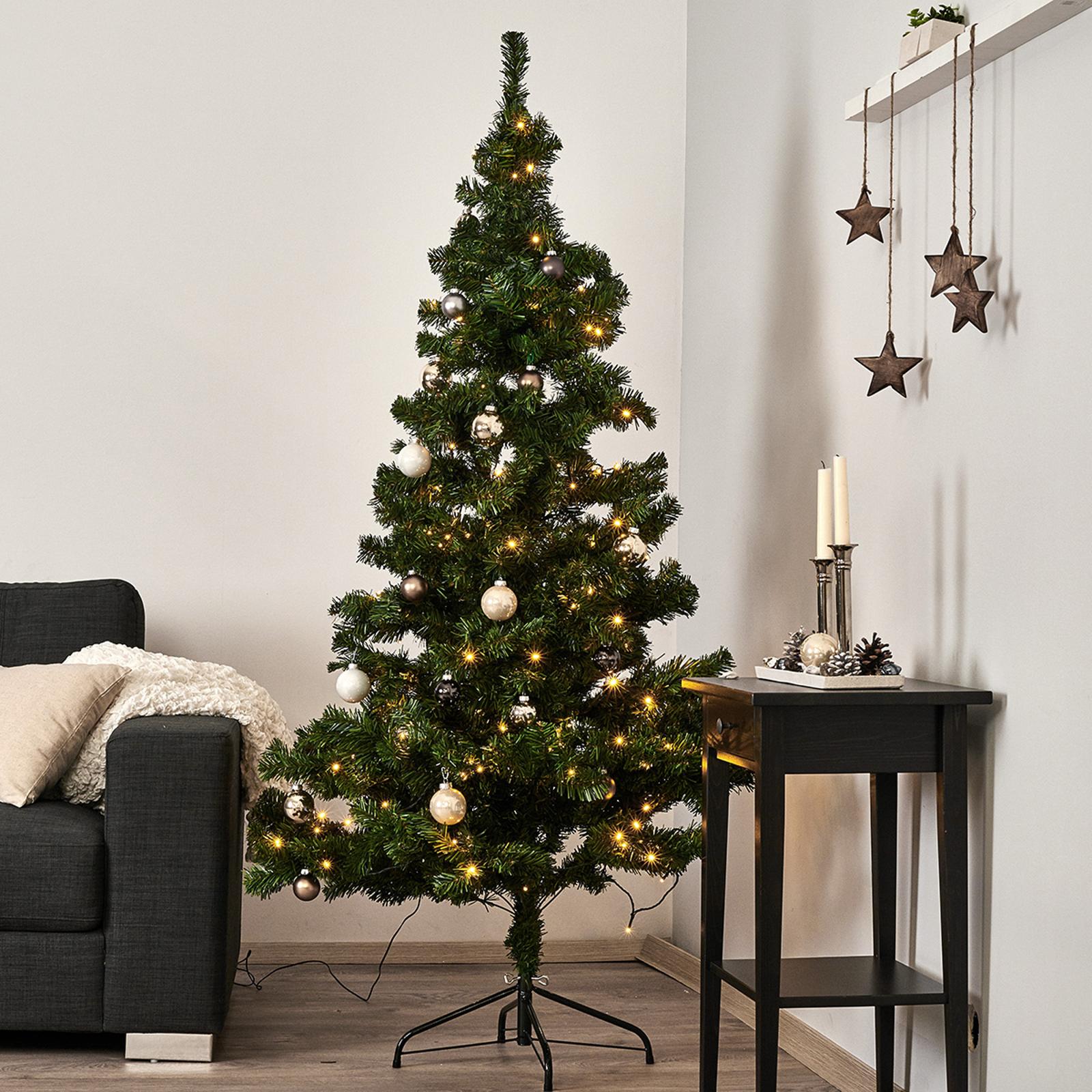 Árbol de Navidad LED 210 cm