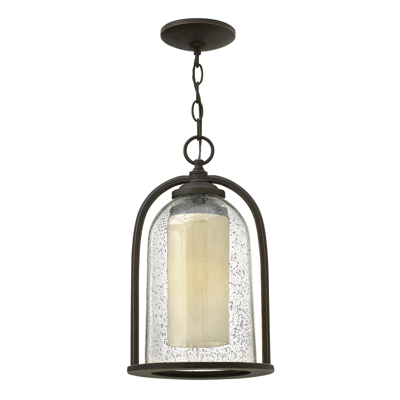 Závesná lampa s dvojitým tienidlom Quincy exteriér_3048375_1
