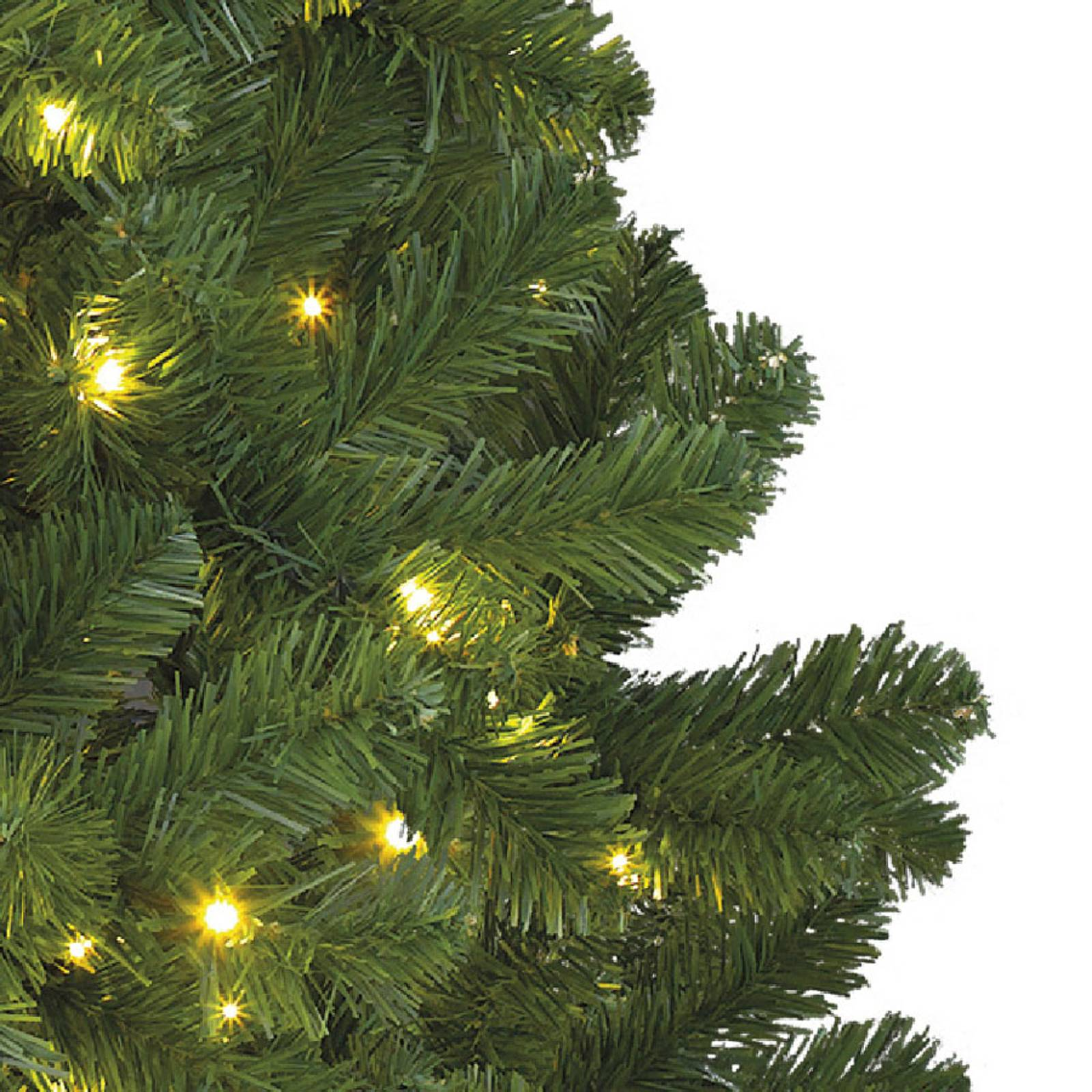 Imperial LED tree for indoors, green, 210cm