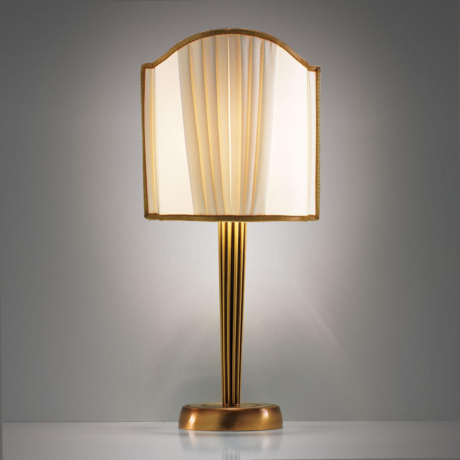 Vakker Belle Epoque bordlampe
