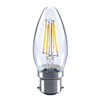 E14 4,5W 827 LED-mignonpære, klar
