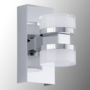 LED-vägglampa Romendo, skyddad mot vattenstänk