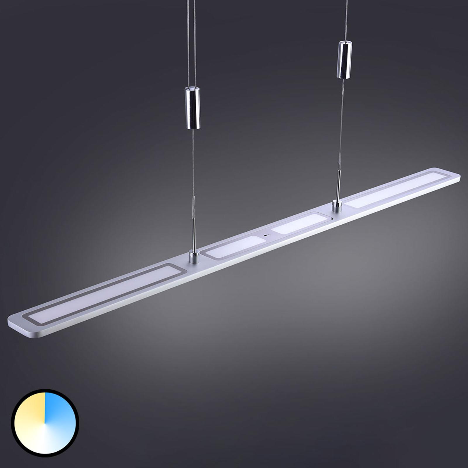 Nika – lampa wisząca LED, sterowana gestami