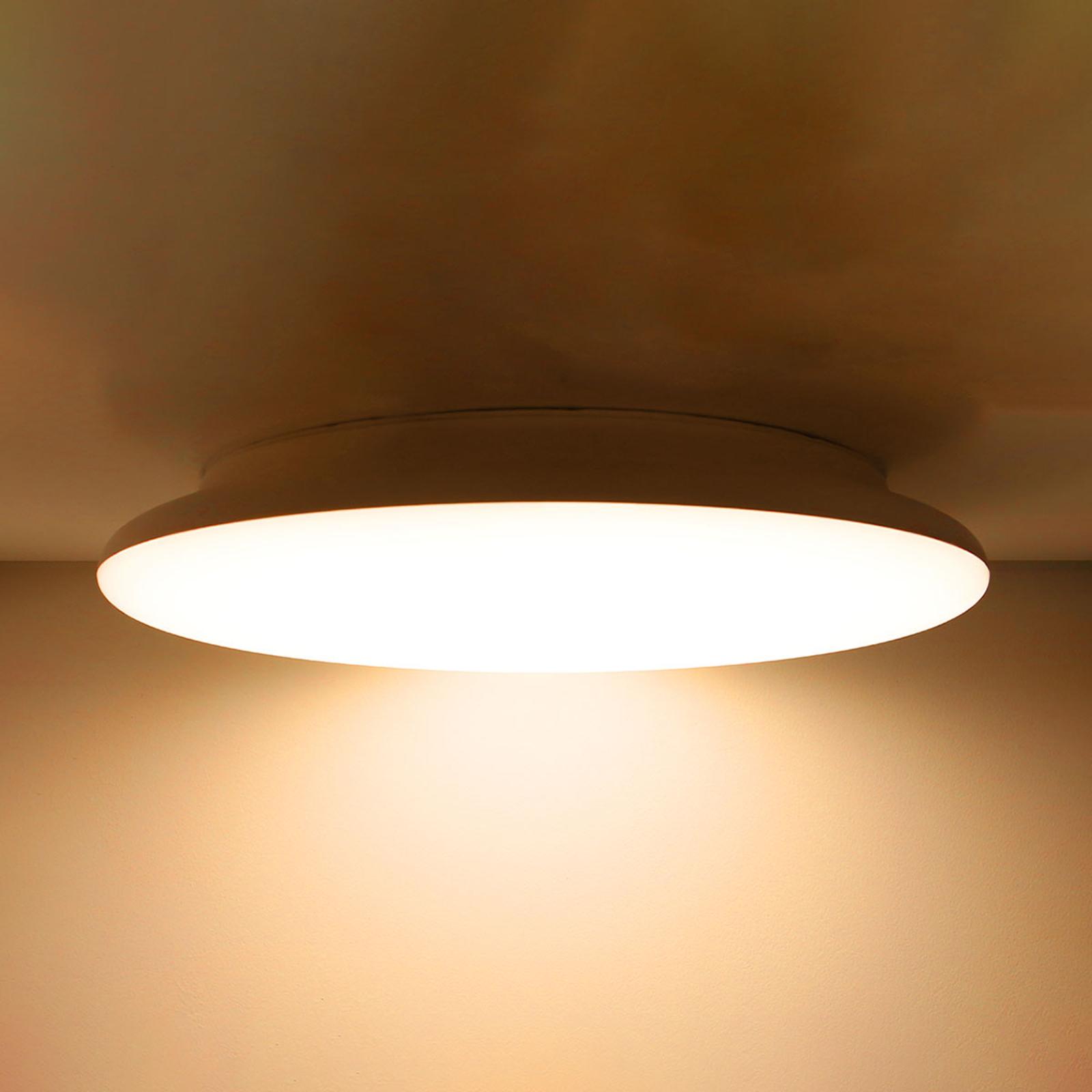 SLC plafoniera LED dimmerabile IP54 25 cm 3.000K