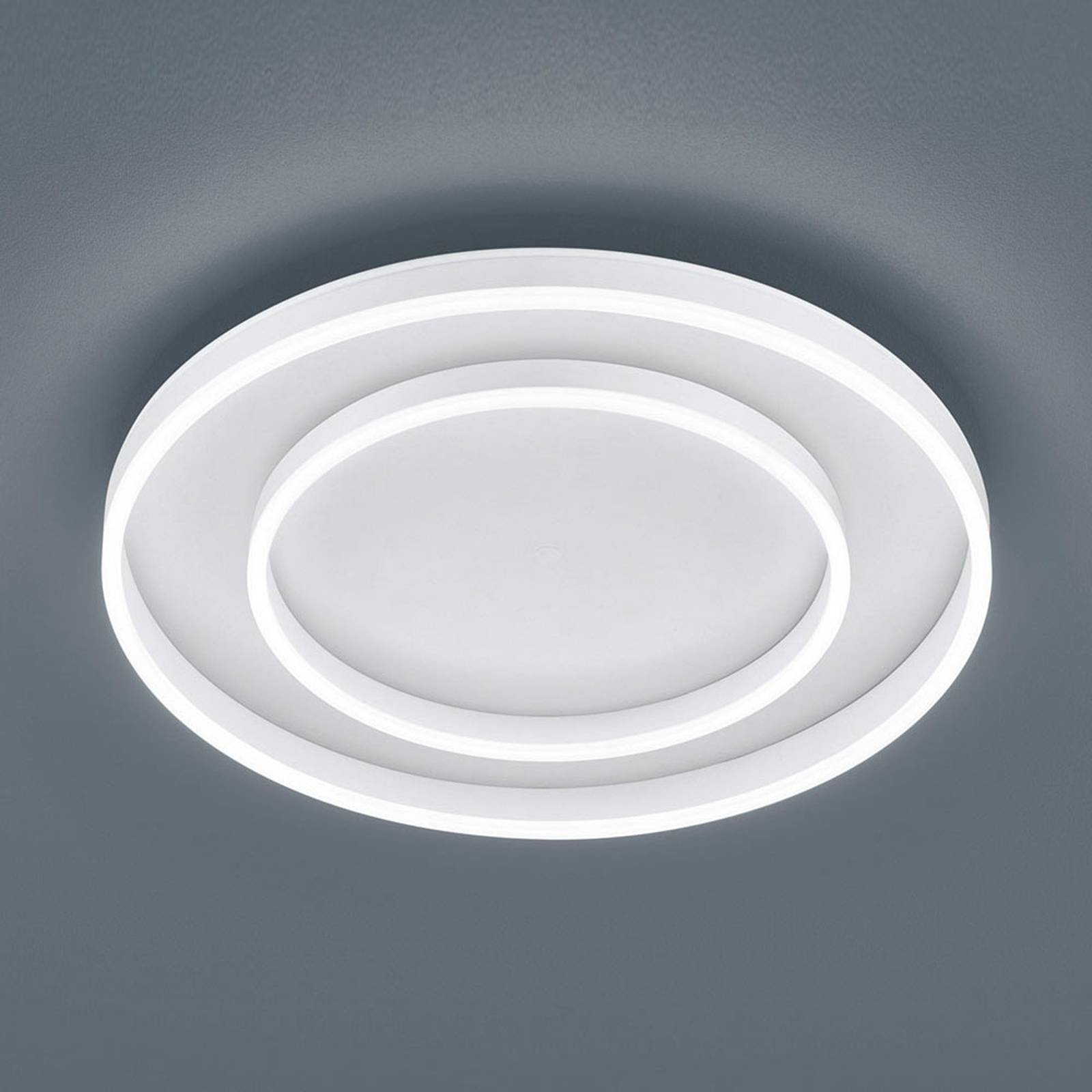 Helestra Sona lampa sufitowa LED Ø60cm biała