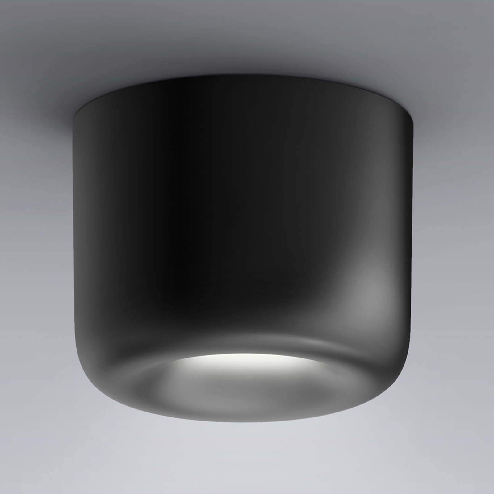 serien.lighting Cavity Ceiling S, noir