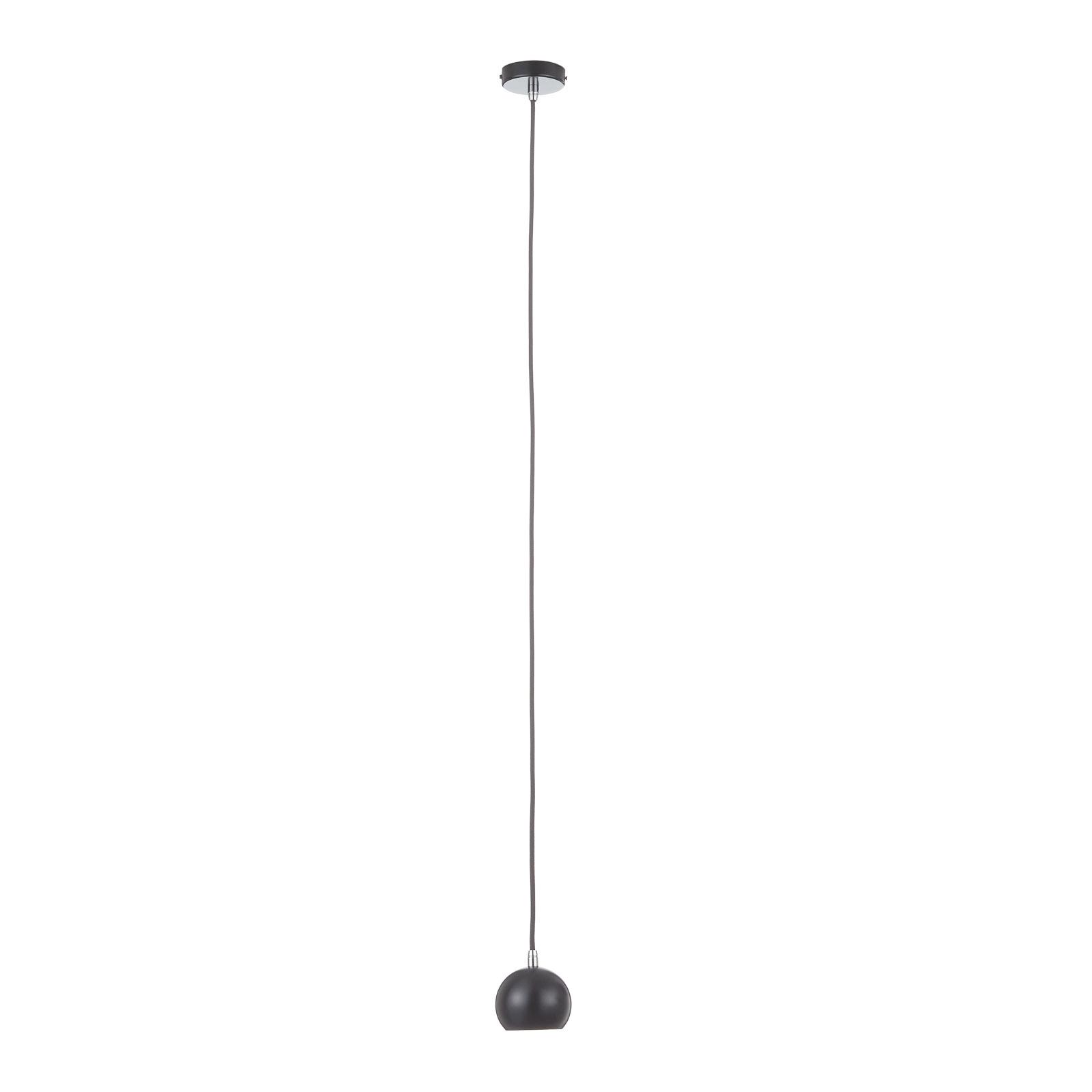 SLV Light Eye Ball suspension noire/chromée