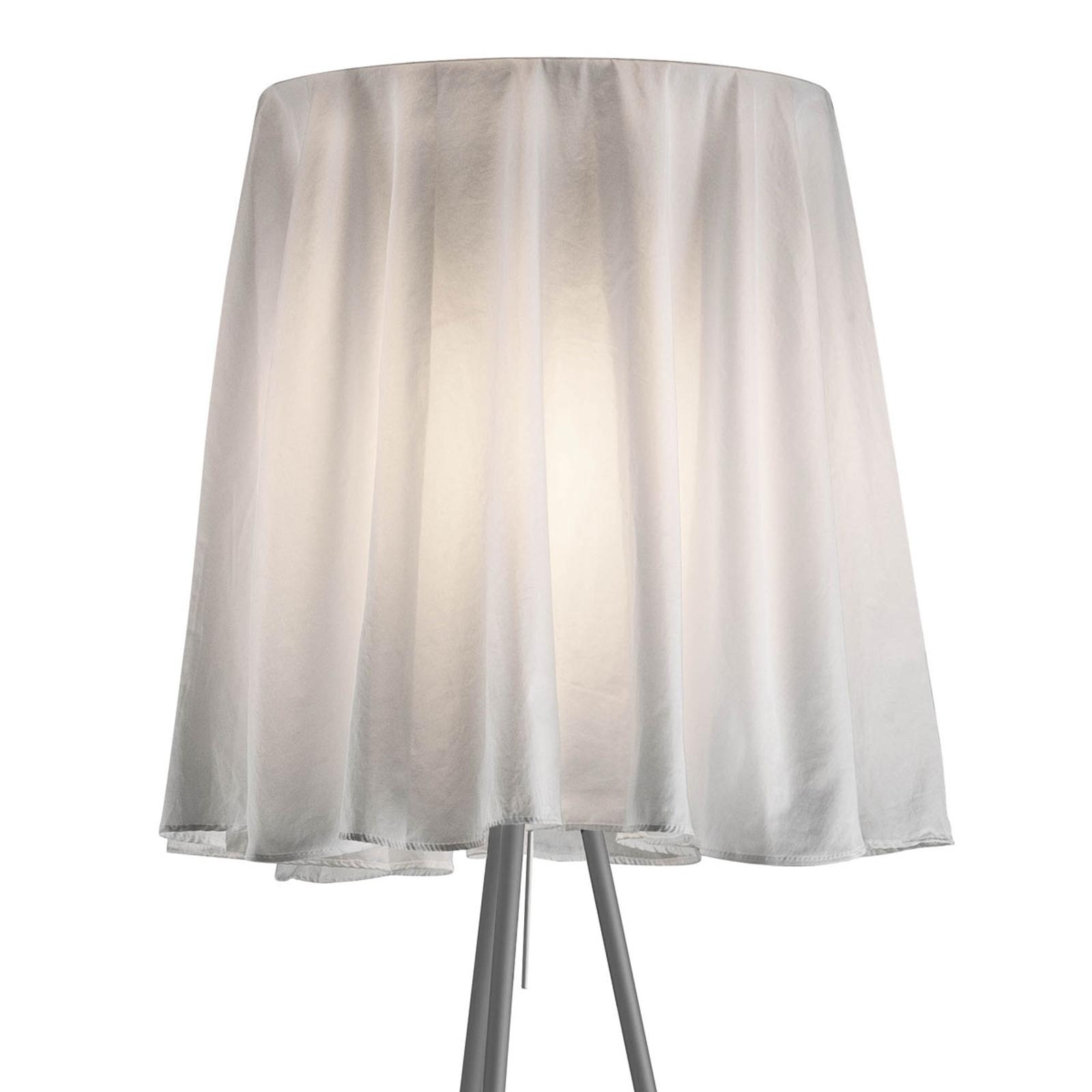 FLOS Rosy Angelis - stojací lampa, stříbrný rám