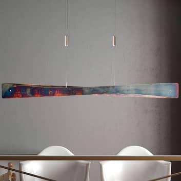 Lucande Lian LED závěsné světlo, zlatá