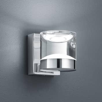 Glänzend verchromte LED-Bad-Wandleuchte Brian