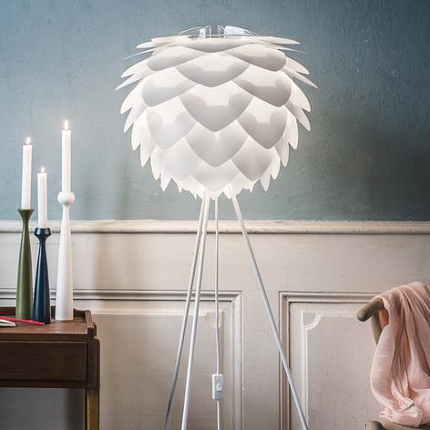 UMAGE Silvia medium lámpara de pie trípode blanca
