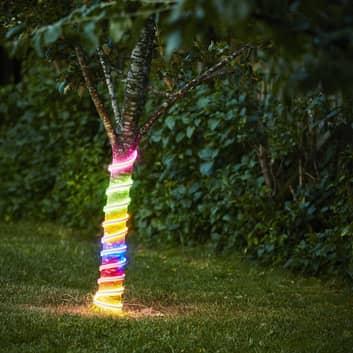 Flatneon LED-lysslange, flerfarvet