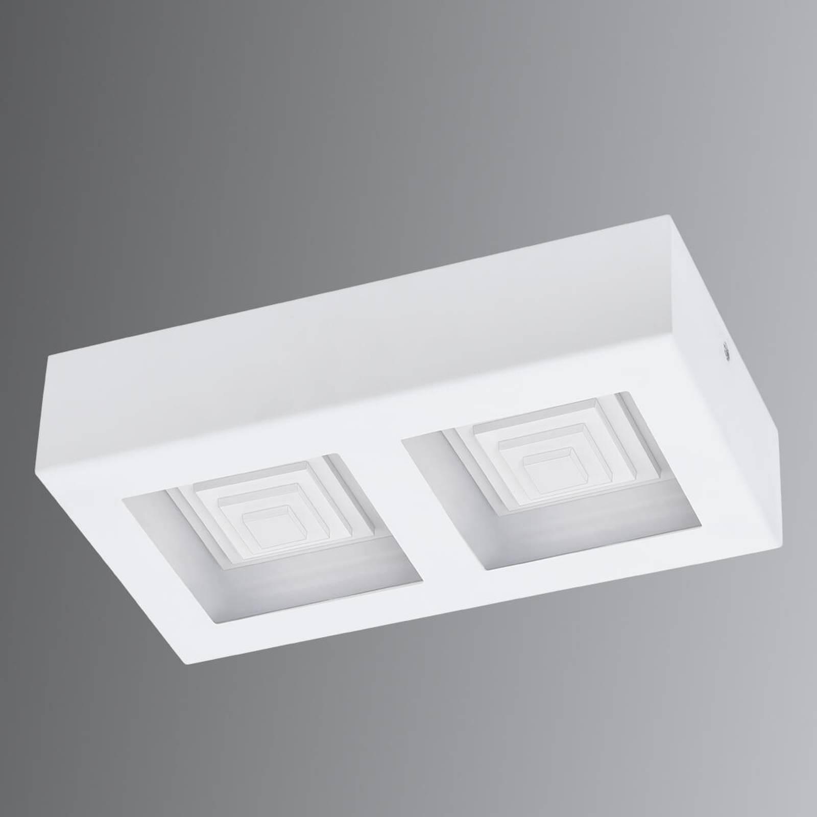Ferreros - 2-lamps LED plafondlamp in wit
