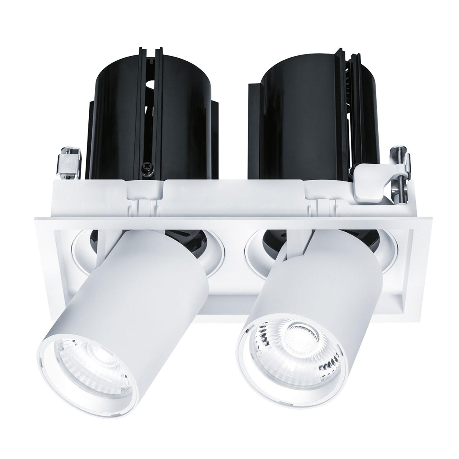 Thorn Tonic LED-Einbaustrahler zweiflammig 3.000 K