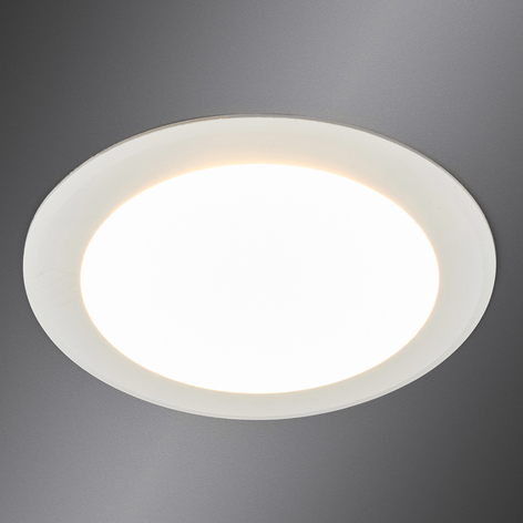Arian - LED inbouwspot in wit, 11,3 cm 9W