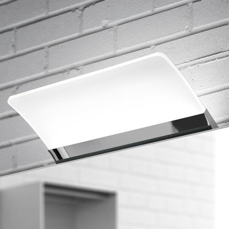 Flächige LED-Spiegelleuchte Angela IP44, 16 cm