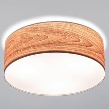 Topmoderne loftslampe Liska i træ