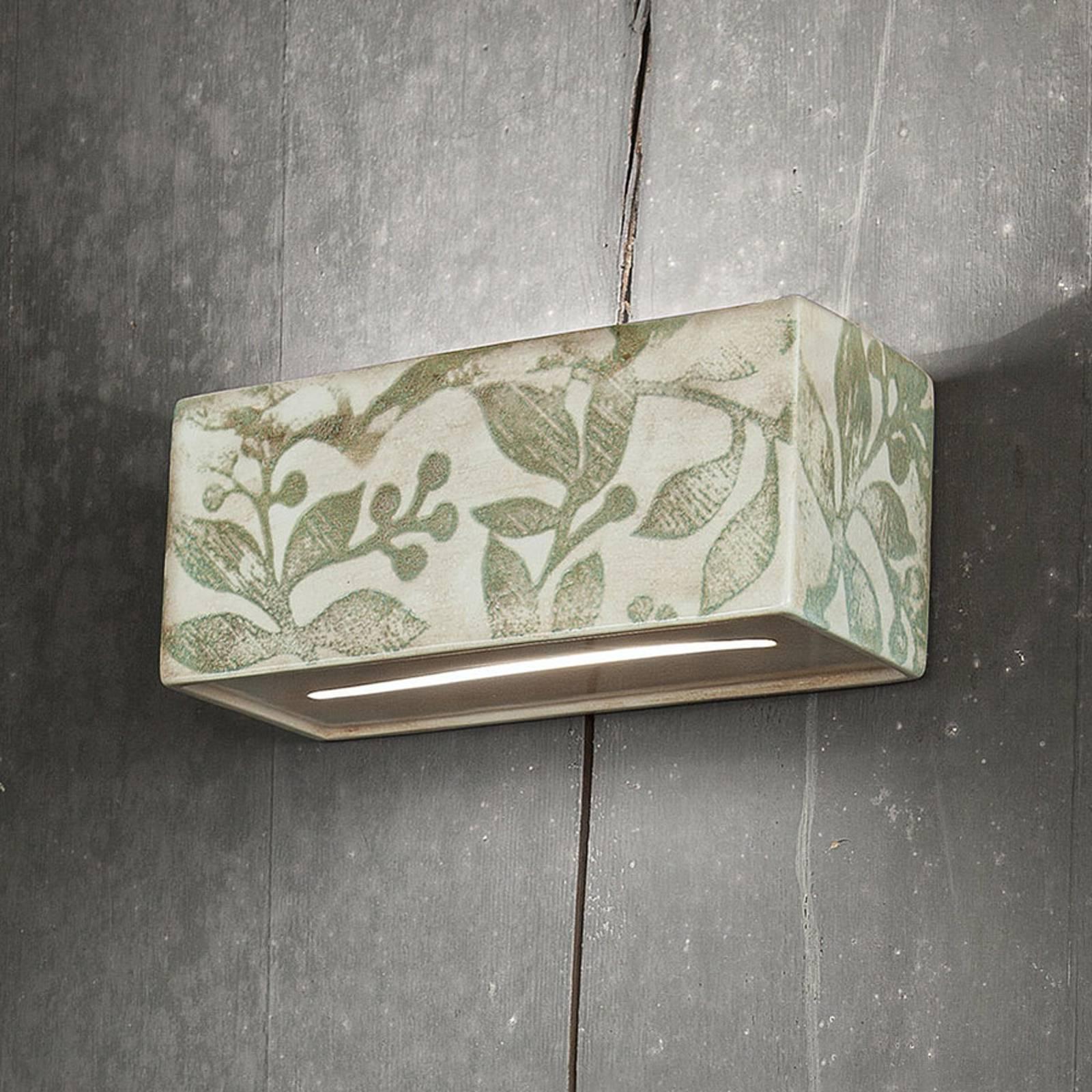 Wandlamp C1418/27 met herfstversiering 25 cm