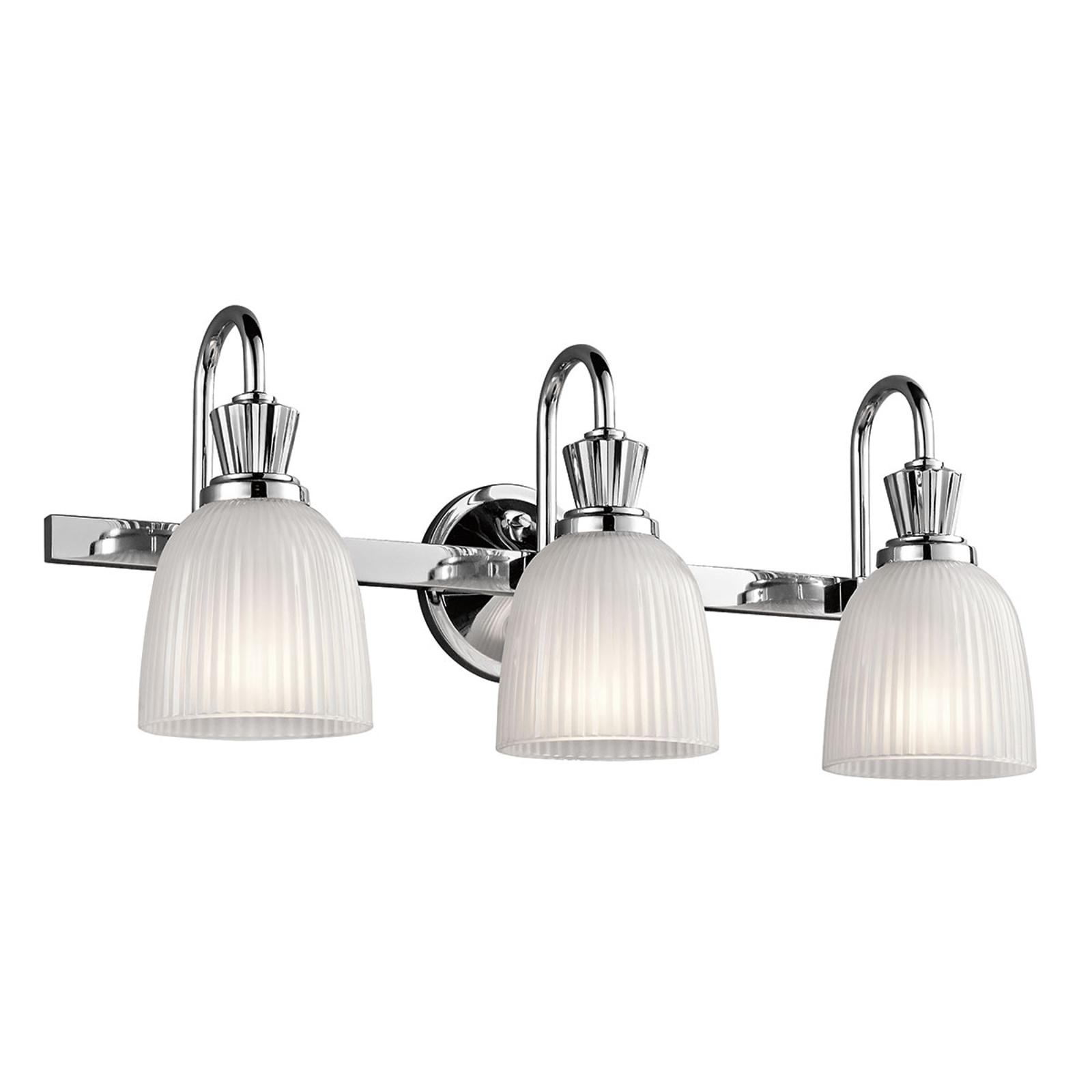 Cora LED-baderomslampe med 3 lyskilder