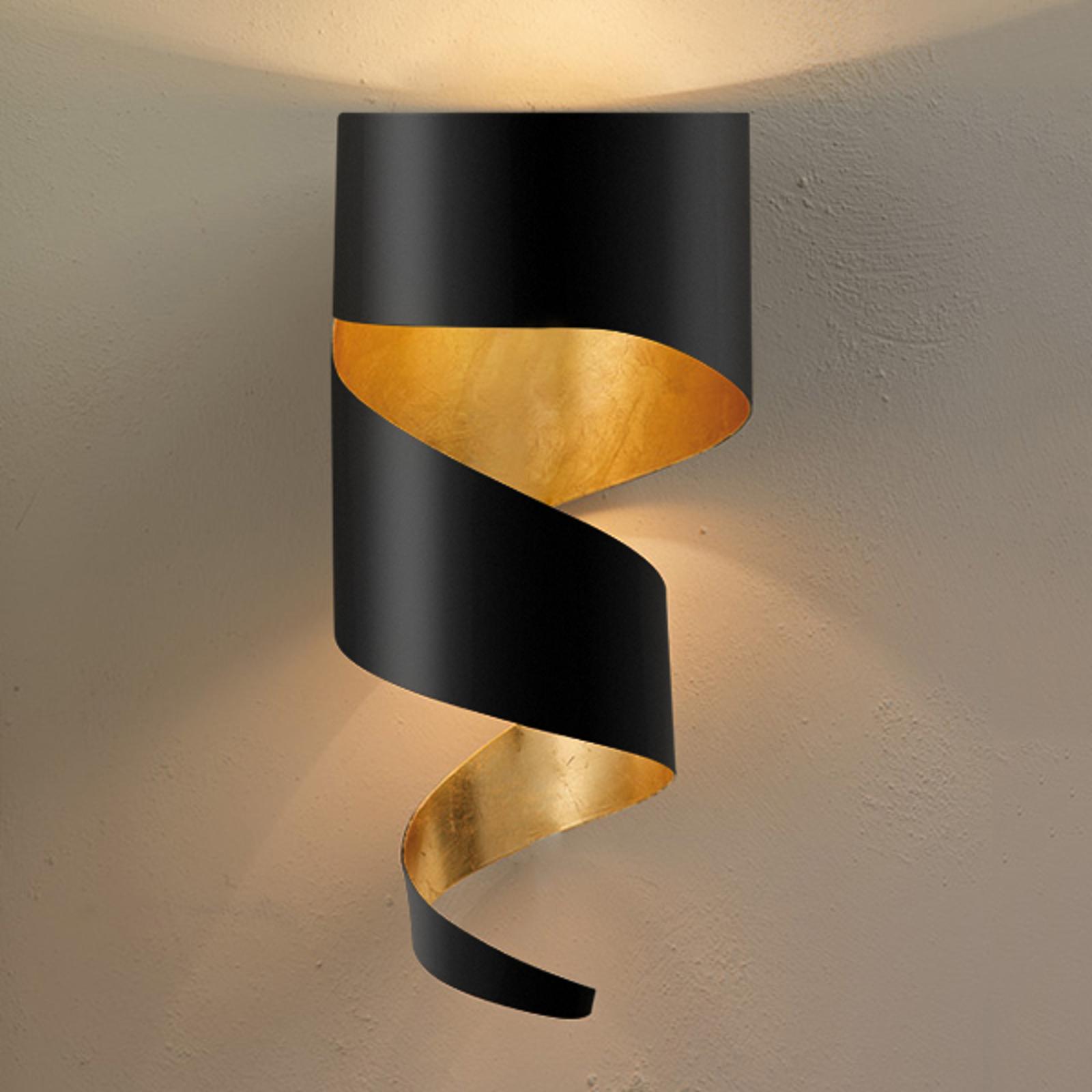 Estetica applique Remi, nero-oro