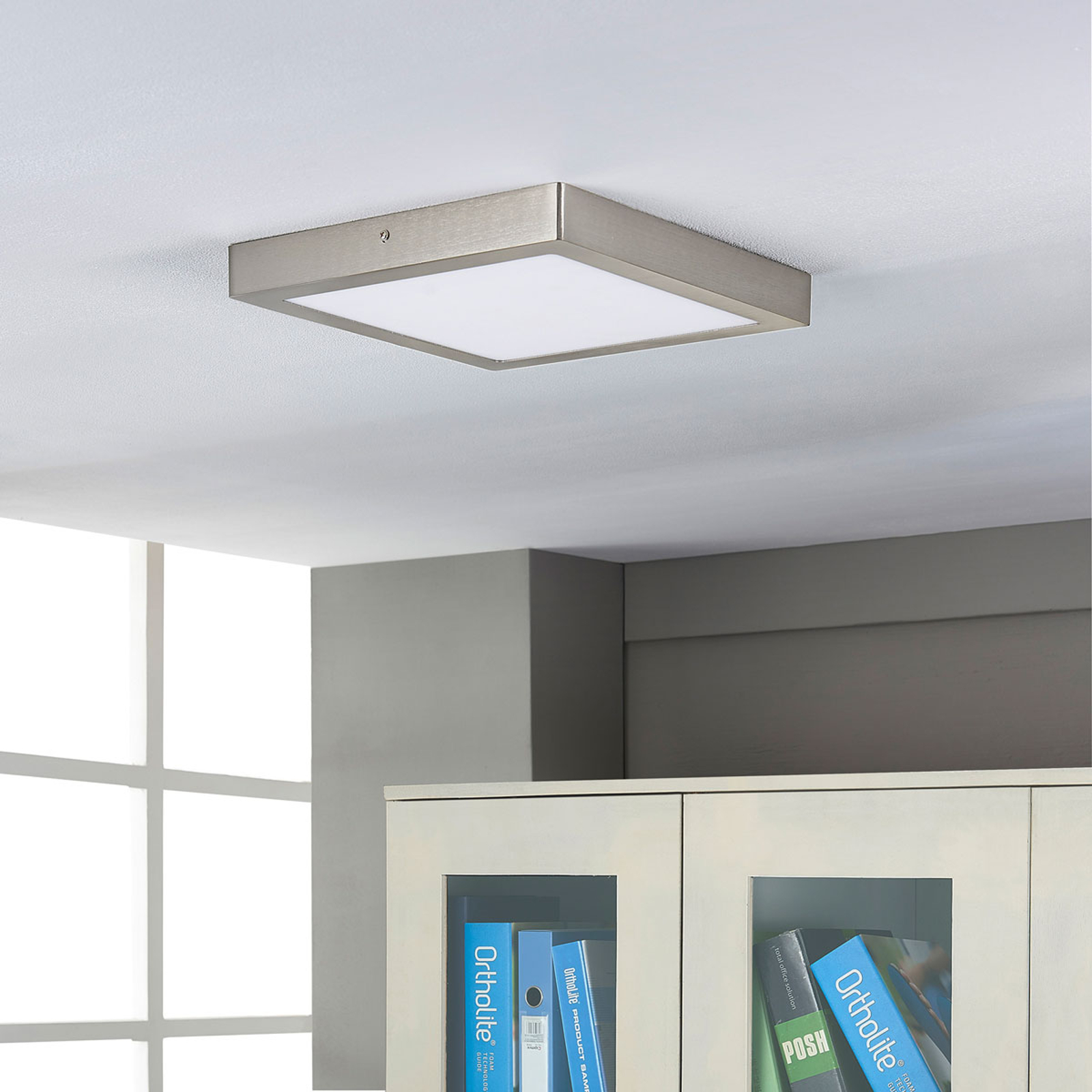 Elice - lampa sufitowa z jasnymi LEDami